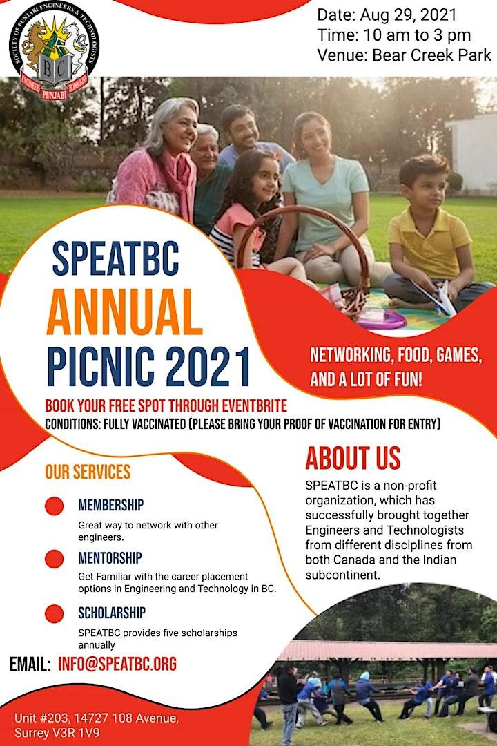 SPEATBC Annual Picnic 2021 image