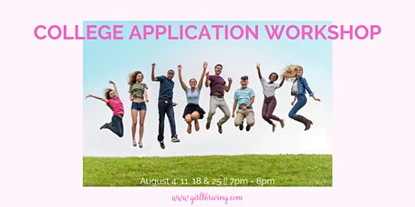 College Application Workshop tickets