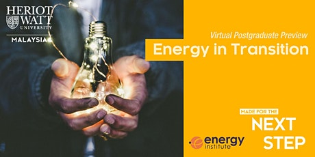 Virtual PG Preview - Energy in Transition tickets
