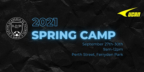 ELEVEN Football - Spring 2021 Camp tickets