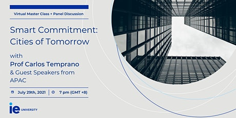 Smart Commitment – Cities of Tomorrow tickets