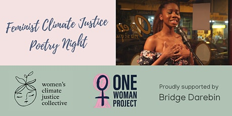 Feminist Climate Justice Poetry Night tickets