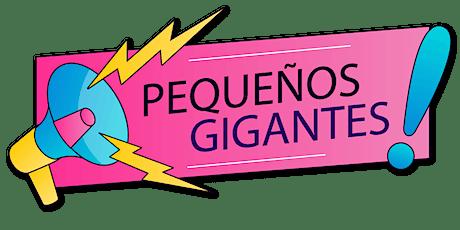 PEQUEÑOS GIGANTES entradas