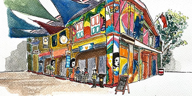 Introduction to Urban Sketching for Creative Journaling Workshop