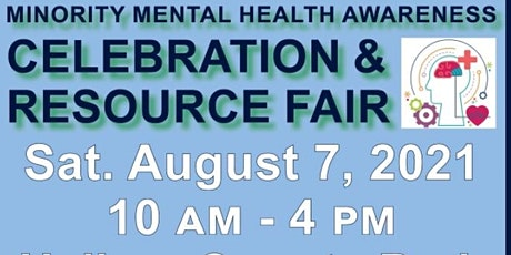 Minority Mental Health Awareness, Celebration, and Resource Fair tickets