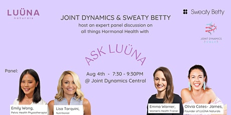 Ask LUÜNA: Hormonal Health with Joint Dynamics and Sweaty Betty tickets