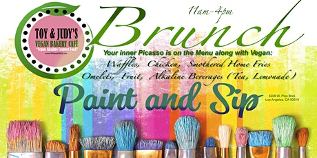"""Vegan Brunch & Paint Sundays"" @ TOY & JUDY'S tickets"