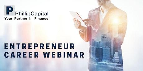 Entrepreneur Career Opportunities tickets