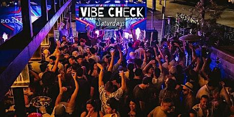 Vibe Check @ Bauhaus Saturdays tickets
