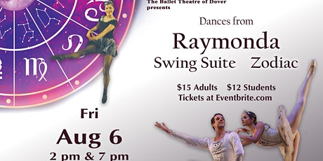 """Dances from """"Raymonda"""", """"Swing Suite"""" and ZODIAC tickets"""