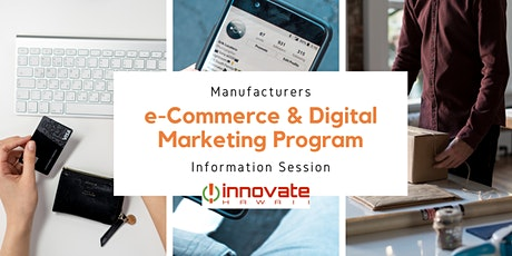 HTDC Innovate Hawaii E-Commerce & Digital Marketing Cohort Info Session tickets