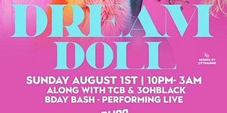 DREAMDOLL X 3OHBLACK X TCB @ BLISS NIGHTCLUB DC tickets