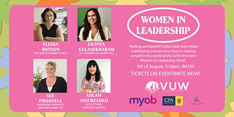 VicCom Presents: Women in Leadership Panel tickets