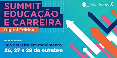Summit Educação e Carreira bilhetes