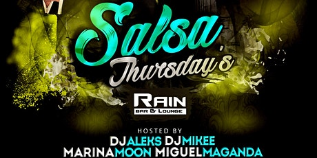 Salsa Thursdays with DJ Aleks, DJ Mikey, Marina Moon & Miguel Maganda tickets