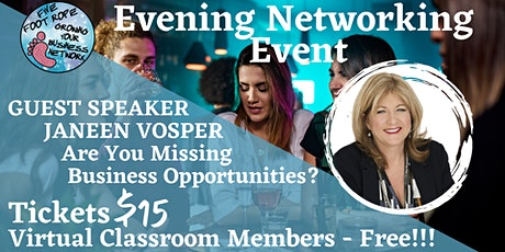 Five Foot Rope Evening Networking Event - August tickets
