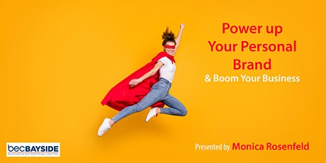 Power up your Personal Brand to Boom your Business tickets