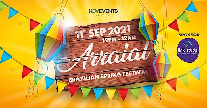 """ARRAIAL"" @KDV - BRAZILIAN SPRING  FESTIVAL image"