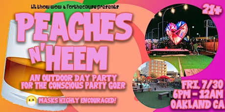Peaches N' Heem  Outdoor Day Party tickets