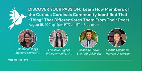 DISCOVER YOUR PASSION PANEL tickets