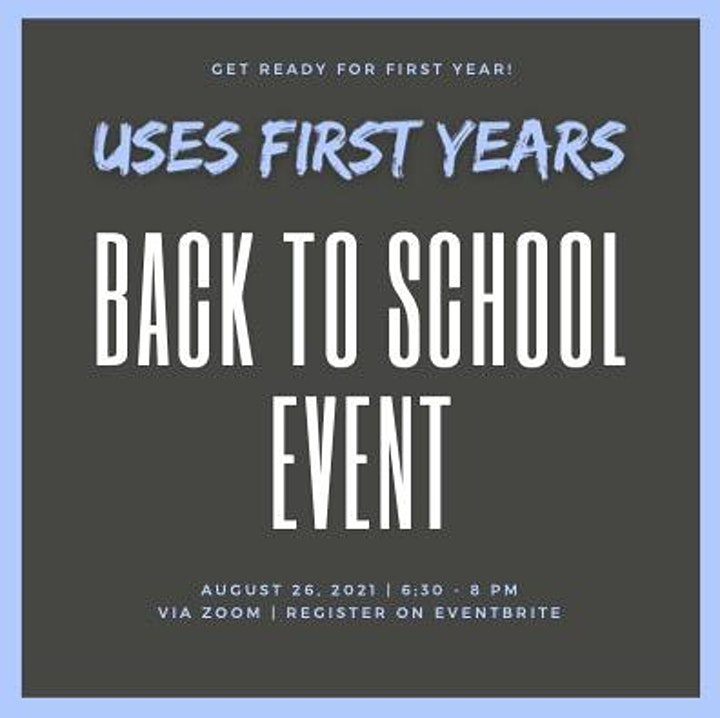 USES First Year Back to School Event image