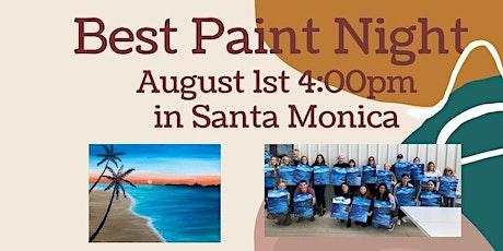 Super Fun Paint Night in Santa Monica tickets