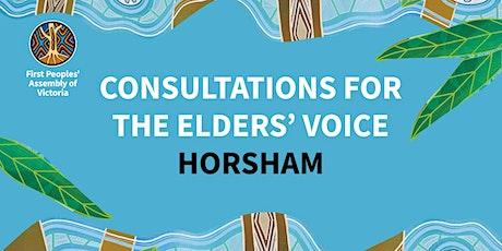 Elders' Voice Consultation — Horsham tickets