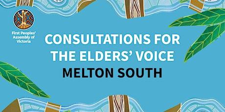 Elders' Voice Consultation — Melton South tickets