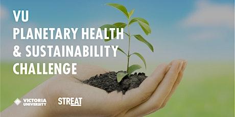 VU Planetary Health  & Sustainability Challenge tickets