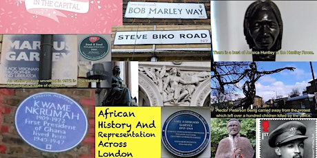 MONDAYXHS2021 London African History Through Representations In The Capital tickets