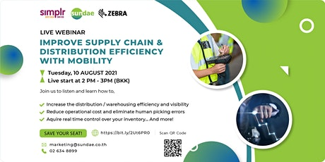 Improve Supply Chain & Distribution Efficiency with Mobility Tickets