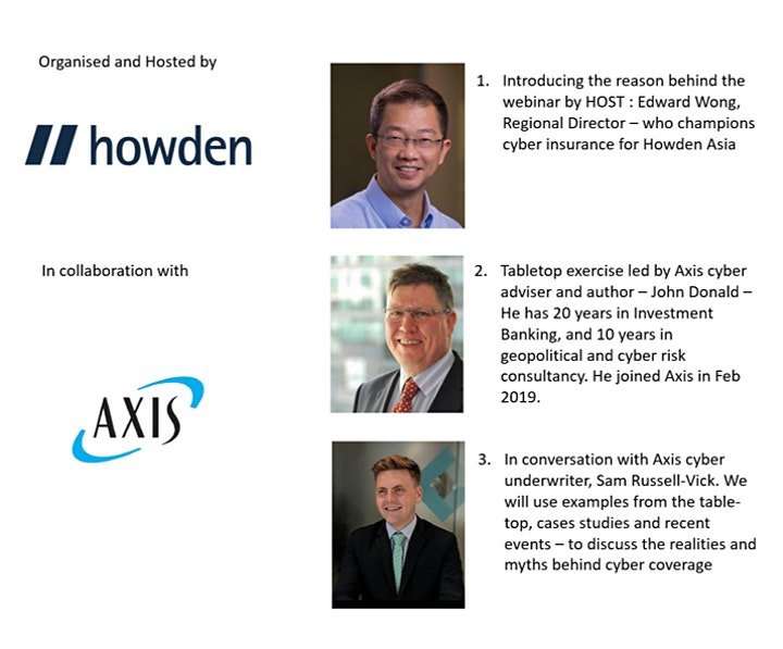HOWDEN/AXIS: An interactive cyber table-top webinar  - PREPARED FOR IMPACT? image