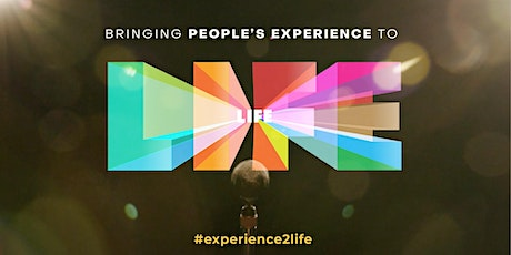 Bringing People's Experience To Life tickets