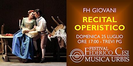 Recital Operistico biglietti