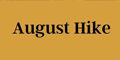 August Hike tickets