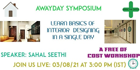 LEARN INTERIOR DESIGNING IN A SINGLE DAY tickets