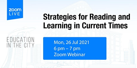 Education in the City: Strategies to Reading and Learning in Current Times tickets