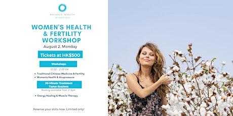 Women's Health and Fertility Workshop tickets