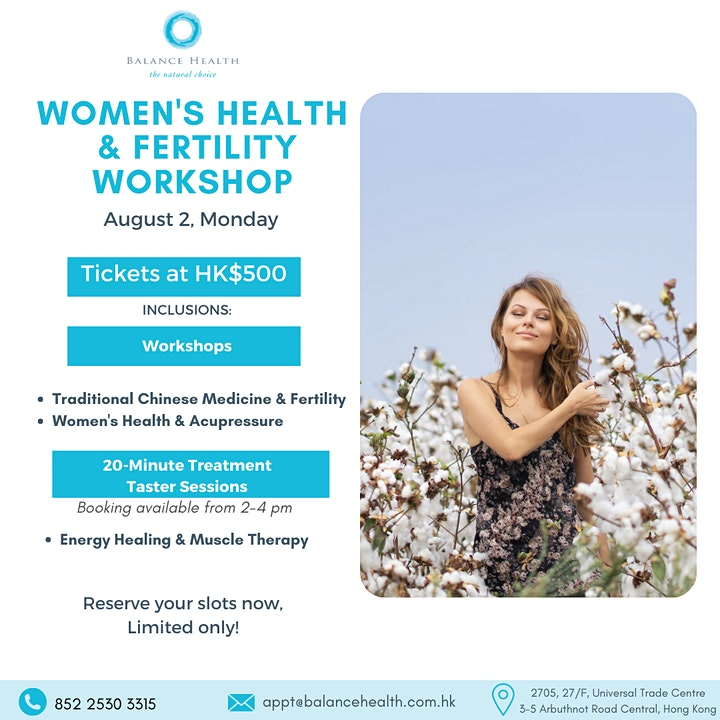 Women's Health and Fertility Workshop image