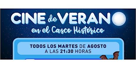 Cine de verano en el Casco Histórico entradas