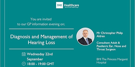 Diagnosis and Management of Hearing Loss tickets