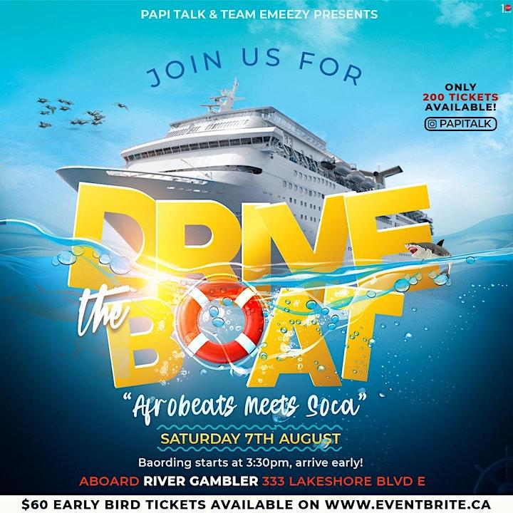 "Drive The Boat ""Afro Beats Meets Soca "" image"