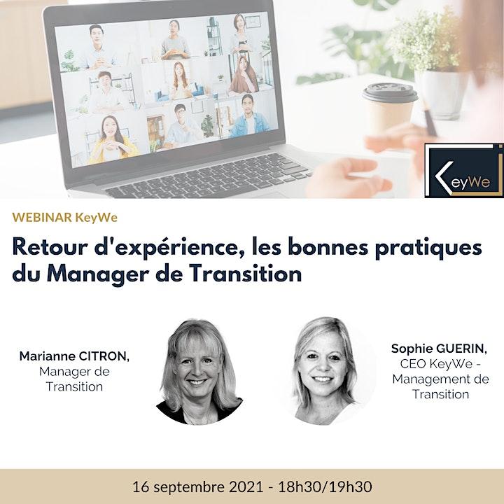 Image pour WEBINAR KeyWe - Marianne CITRON : Retour d'expérience et bonne pratiques