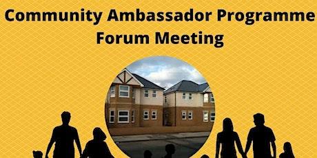 Community Ambassado Programme  Forum tickets