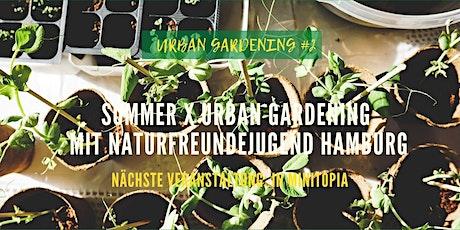 Sommer x Urban Gardening in Hamburg Tickets