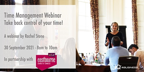 Time Management Webinar Take back control of your time! tickets