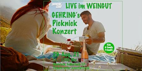 PICKNICK-KONZERT im Weingut Gehring Tickets