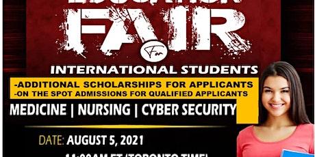 VIRTUAL EDUCATION FAIR FOR INTERNATIONAL STUDENTS tickets