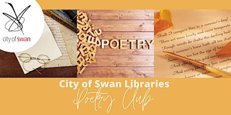 Poetry Club: Rehearsing & Performing (Beechboro) tickets