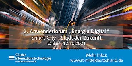 """Zweites Anwenderforum """"Energie Digital"""" Tickets"""